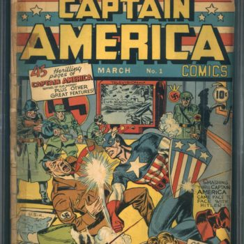 Captain America Comics #1