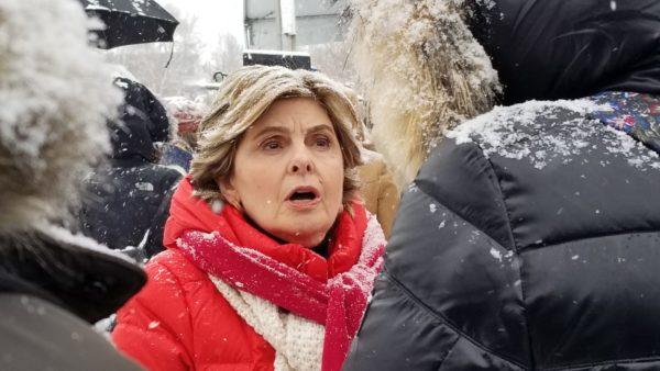 Gloria Allred, Respect Rally at Sundance Film Festival, City Park in Park City, Utah, 2018