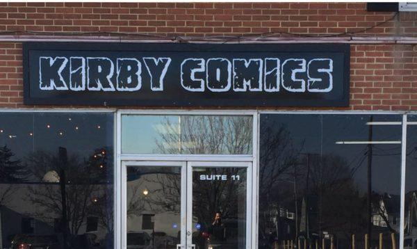kirby comics