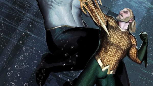 Aquaman #32 cover by Stjepan Sejic