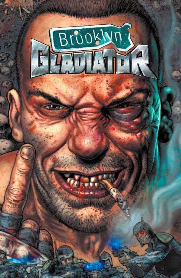 Brooklyn Gladiator #1 cover by Glen Farby