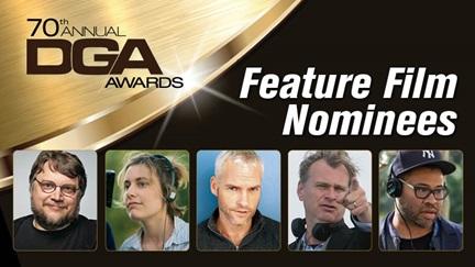 2018 dga nominees