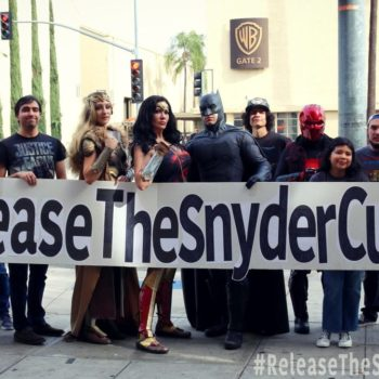 zack snyder cut and more geeky news