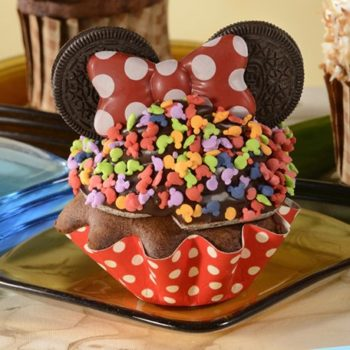 #rockthedots minnie cupcake