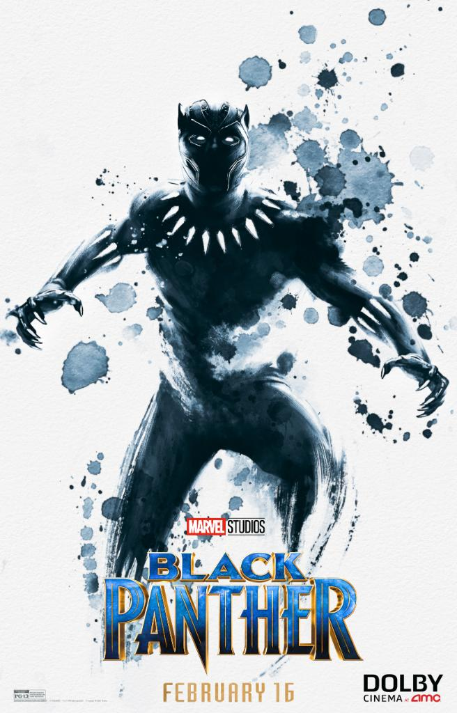 this new black panther poster is stunning bleeding cool news and