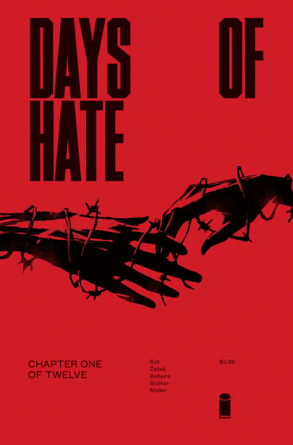 Days of Hate #1 cover by Danijel Zezelj