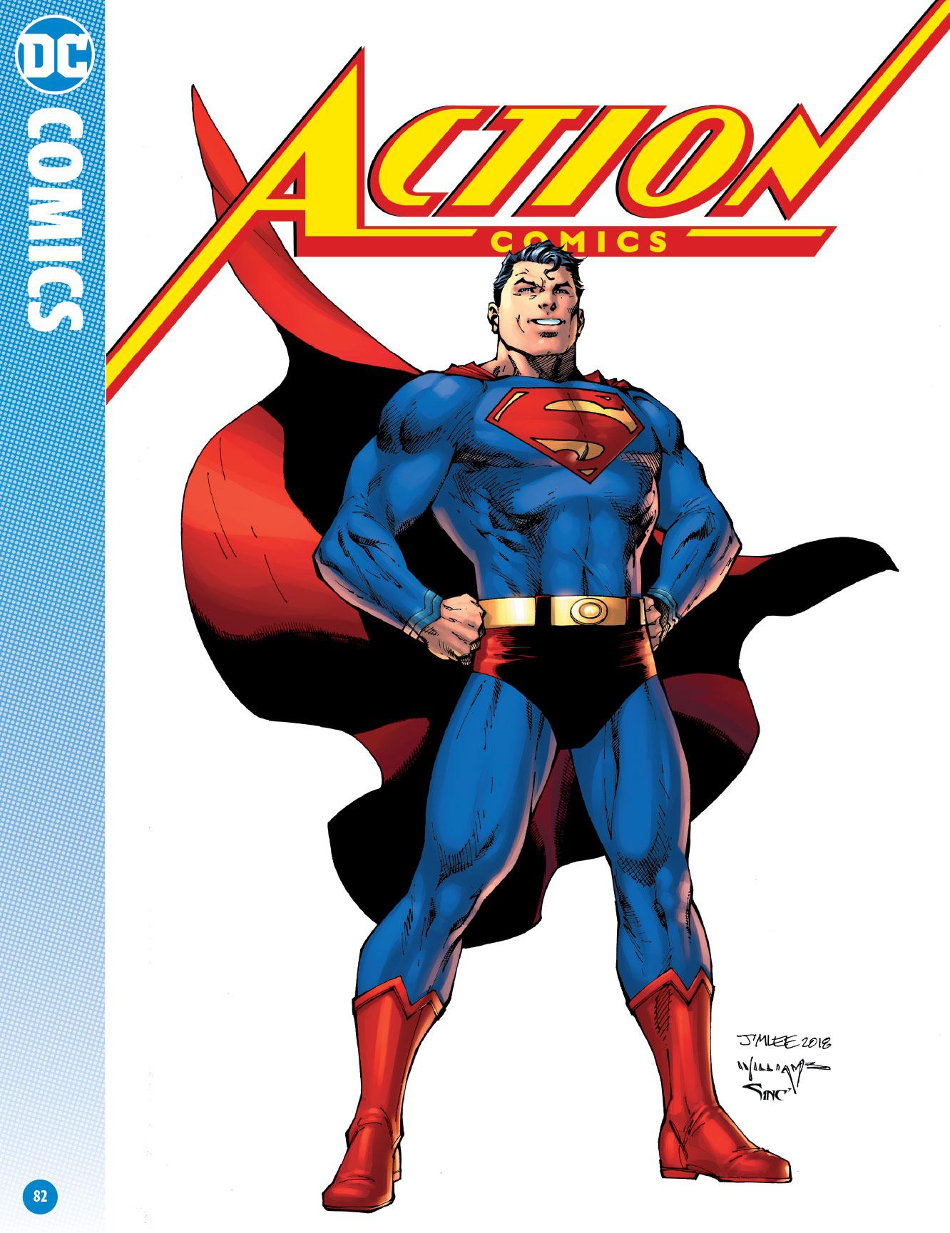 DC Comics April 2018 Catalog - Solicits From Action Comics #1000 to ...