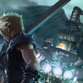 Final Fantasy 7 Remake VII city pose