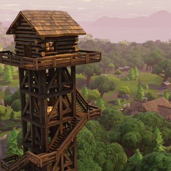 Fortnite tower