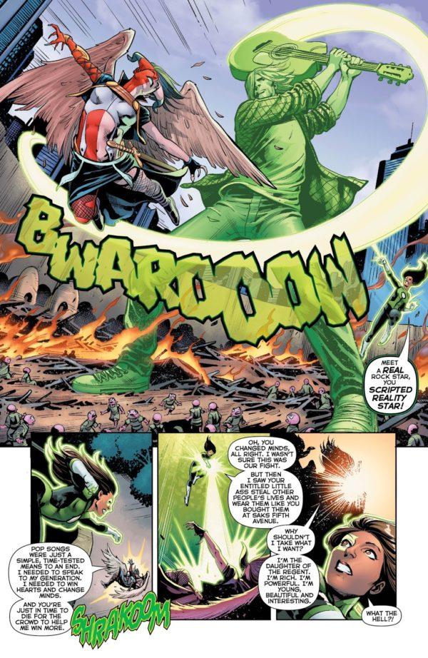 Green Lanterns #39 art by Ronan Cliquet and Hi-Fi