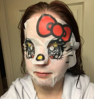 hello kitty sheet mask