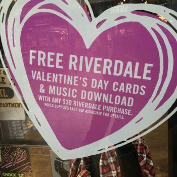 riverdale valentine's day cards