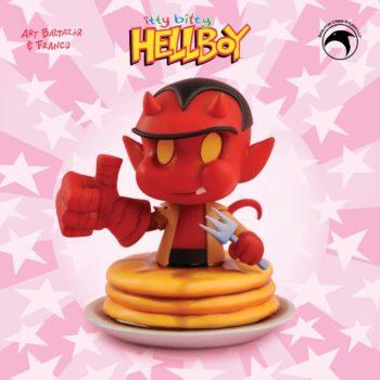 Itty Bitty Hellboy Bust 1