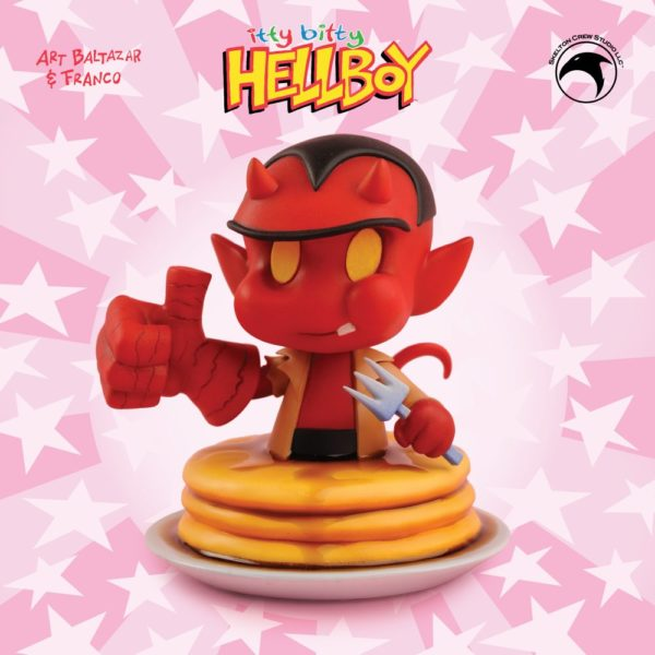 Itty Bitty Hellboy Bust 1