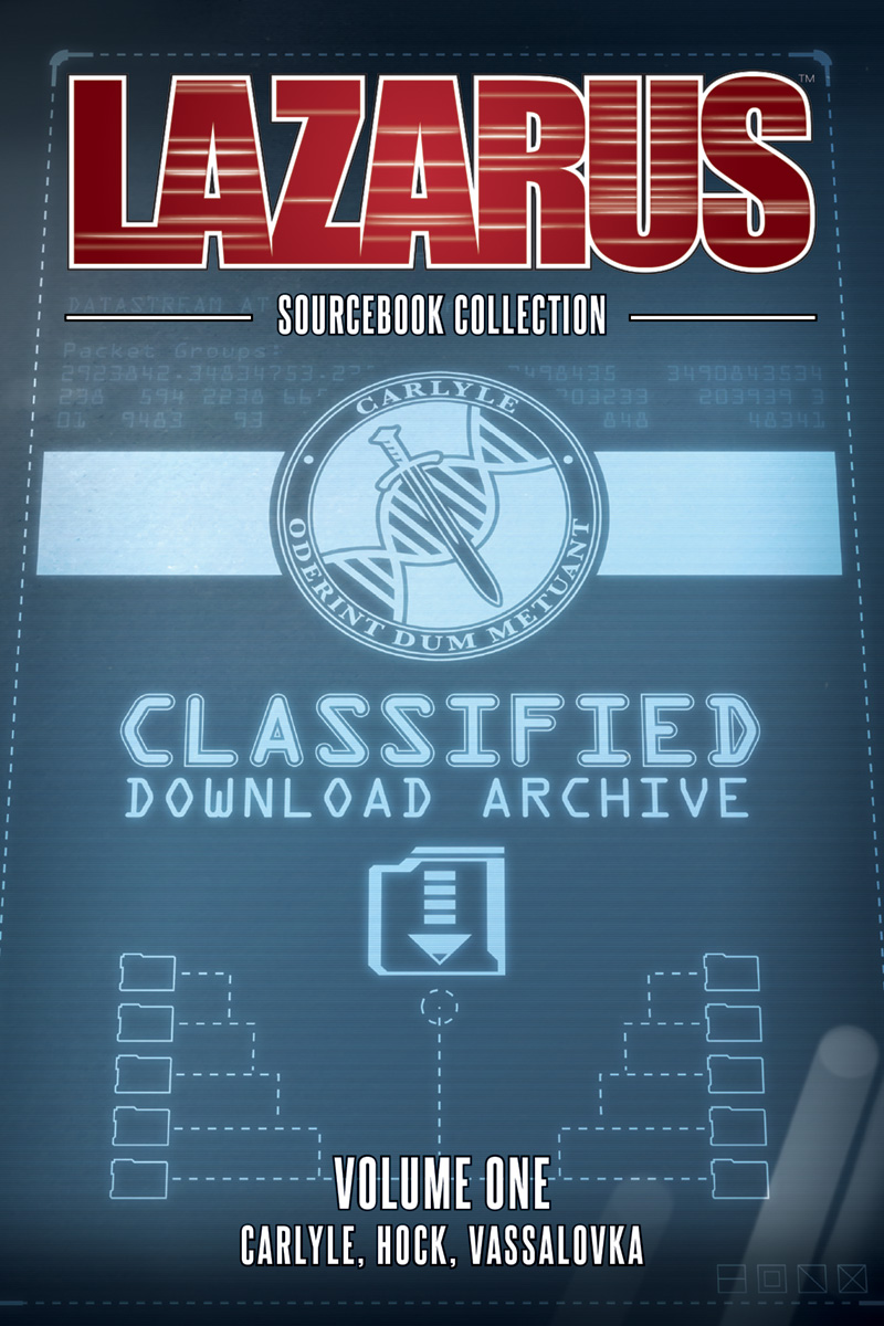 Lazarus: Sourcebook Collection, Vol. 1 TP