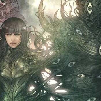 Monstress #13 cover by Sana Takeda