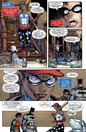 Nightwing #37 art by Klaus Janson (pictured), Jamal Campbell, and Alex Sinclair (pictured)
