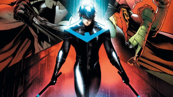 Nightwing #37 cover by Jorge Jimenez and Alejandro Sanchez