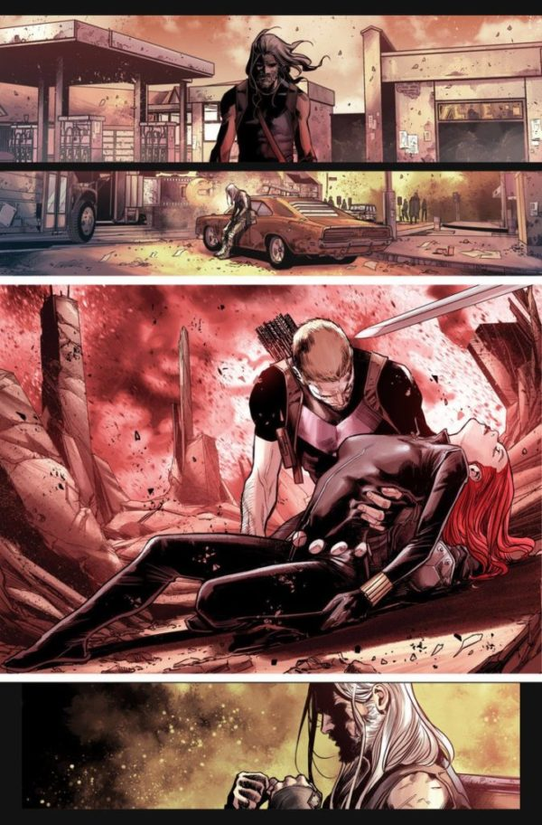 Old Man Hawkeye #1 art by Marco Checchetoo and Andres Mossa