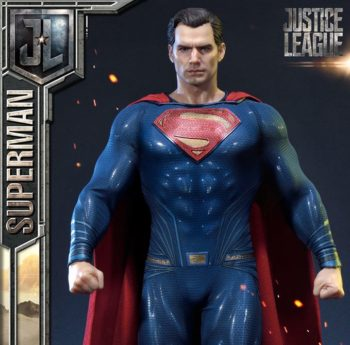 Henry Cavill superman Justice League statue