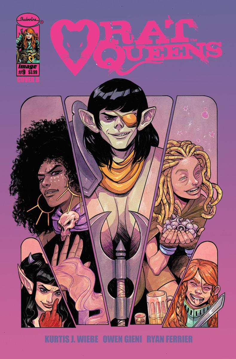 Rat Queens Vol. 2 #9