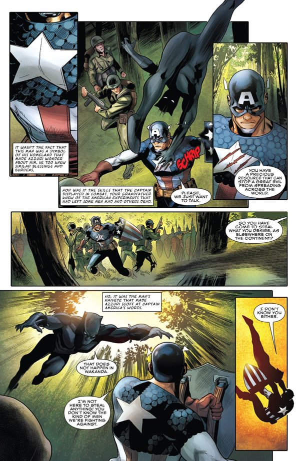 Rise of the Black Panther #1 art by Paul Renaud and Stephane Paitreau
