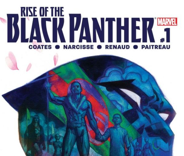 Rise of the Black Panther #1 cover by Brian Stelfreeze