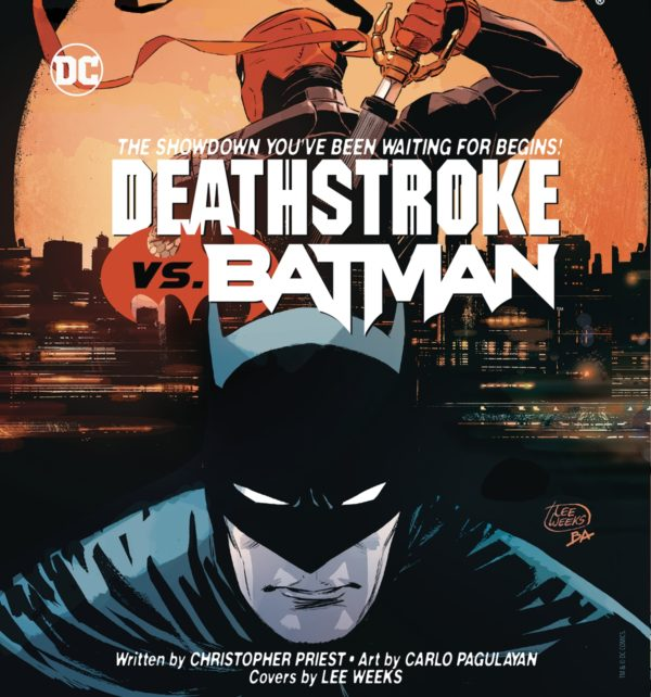 deathstroke vs batman new series by priest and carlo pagulayan