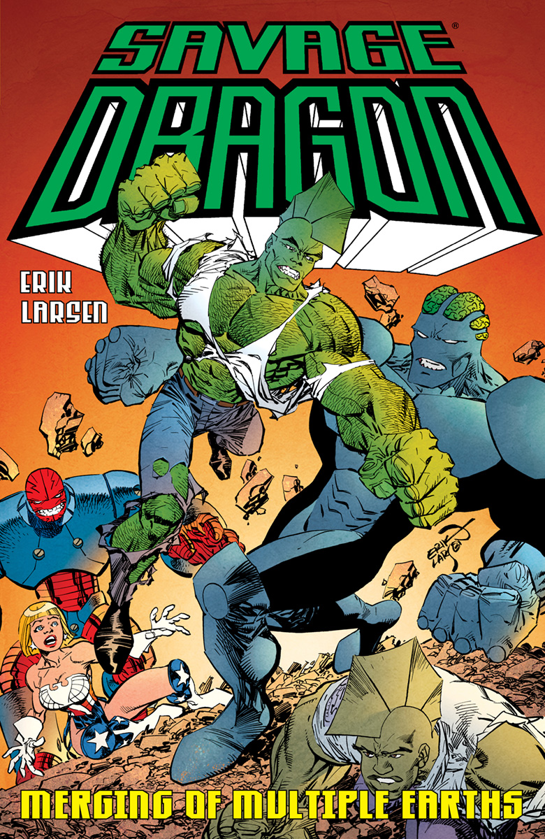 Savage Dragon: Merging Of Multiple Earths TP