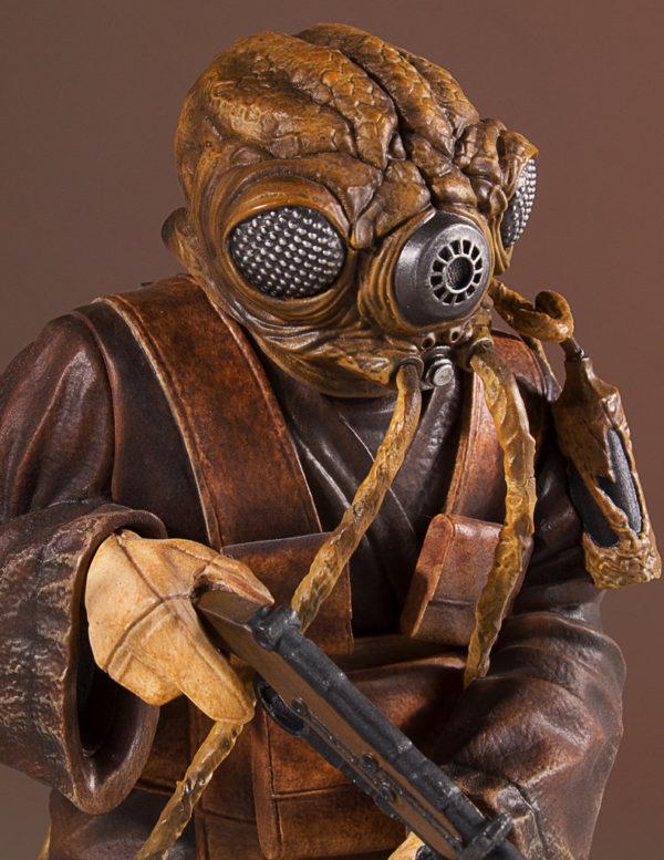 Star Wars Zuckuss Gallery Statue 6