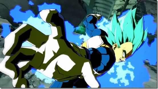 super saiyan blue vegeta stars in latest dragon ball fighterz trailer