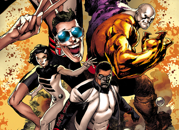 Terrifics #1 cover by Ivan Reis and Marcelo Maiolo