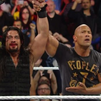 the rock roman reigns ric flair