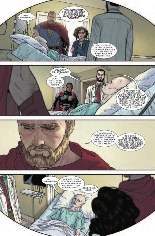 Thor #703 art by Russel Dauterman and Matthew Wilson