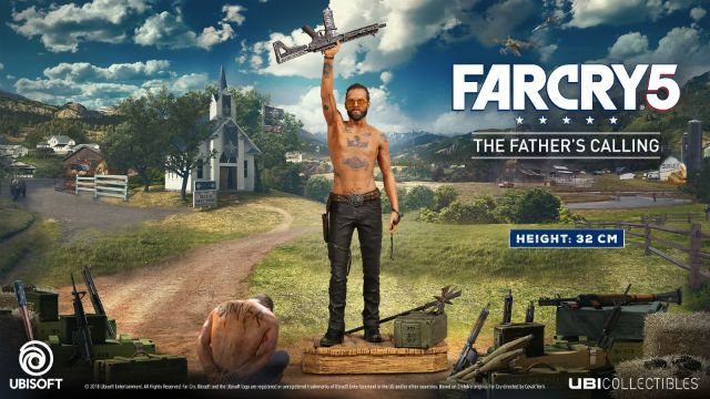 Game Far Cry 5 Father/'s Belt Joseph Seed  Ubisof Official Size M,L 44 NEW