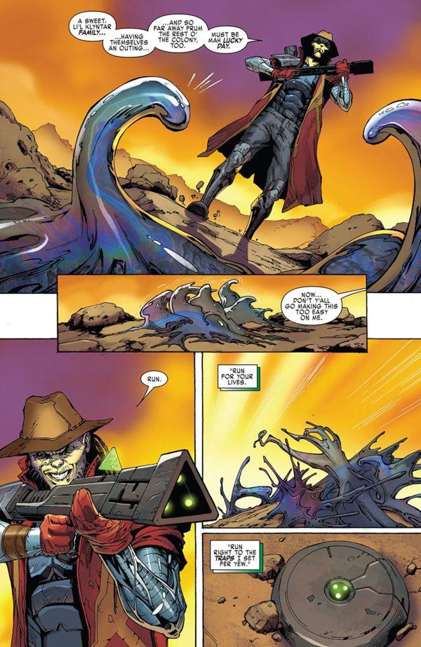 X-Men: Blue Annual #1 art by Edgar Salazar and Matt Milla