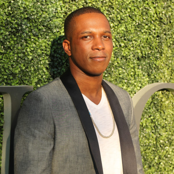 NEW YORK - AUGUST 29, 2016: American actor and singer Leslie Odom Jr. at the red carpet before US Open 2016 opening night ceremony at USTA Billie Jean King National Tennis Center in New York