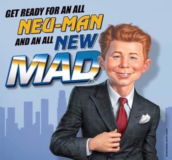 mad magazine relaunch