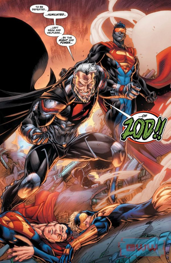 Superman: Action Comics #997 art by Brett Booth, Norm Rapmund, and Andrew Dalhouse