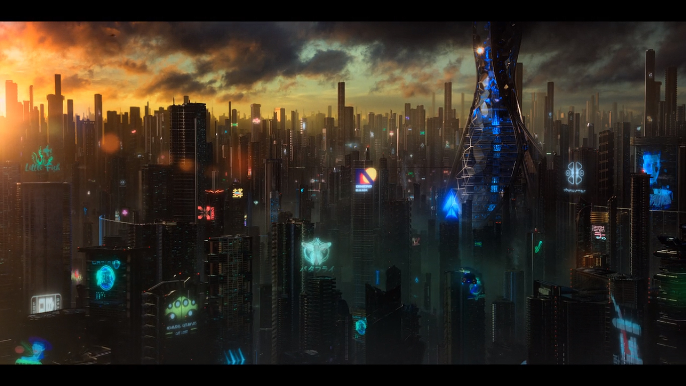 Image result for altered carbon head in the cloud