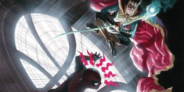 Amazing Spider-Man #795 cover by Alex Ross