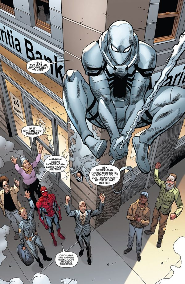 Amazing Spider-Man #796 art by Mike Hawthorne, Cam Smith, Terry Pallot, and Erick Arciniega