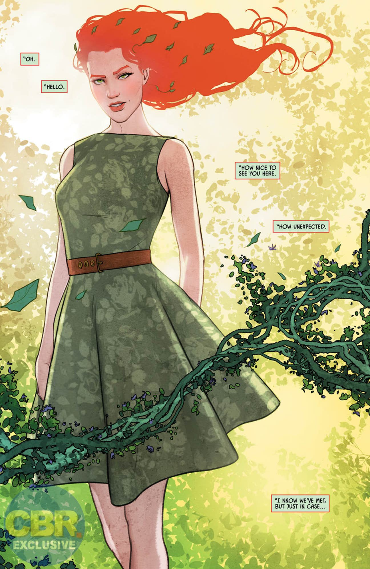 poison ivy comes to batman this week batman 41 preview