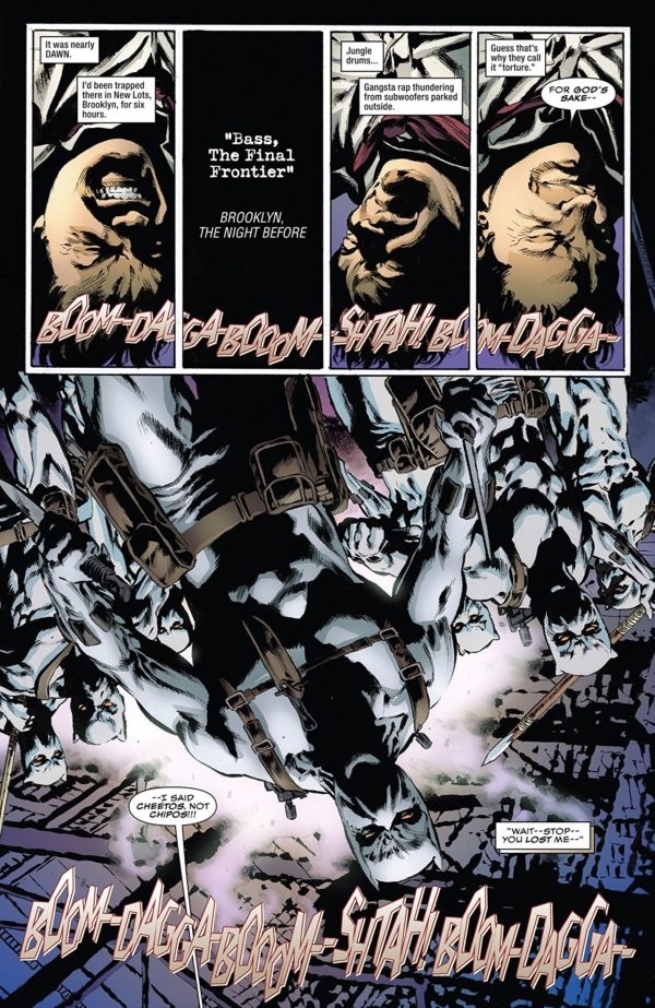 Black Panther Annual #1 art by Mike Perkins and Andy Troy