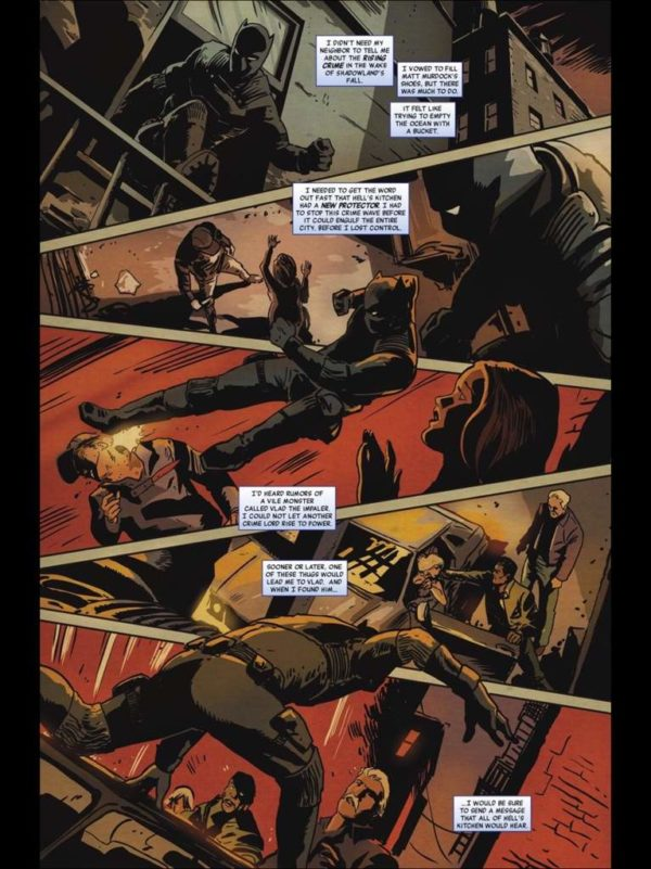 Black Panther #513 art by Francesco Francavilla