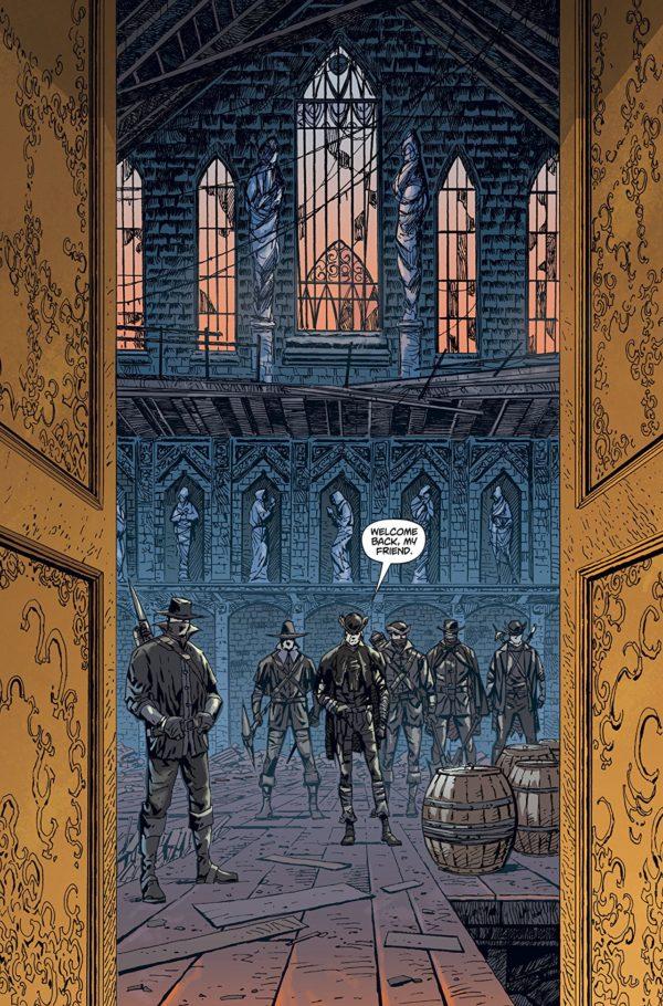 Bloodborne #1 art by Piotr Kowalski and Brad Simpson