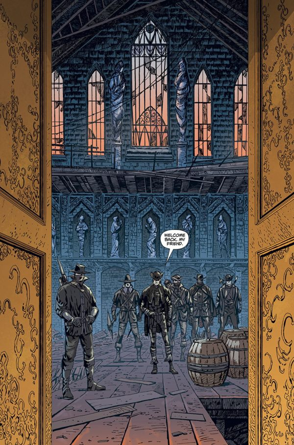 Bloodborne #1 art by Piotr Kowalski and Brad Simpson