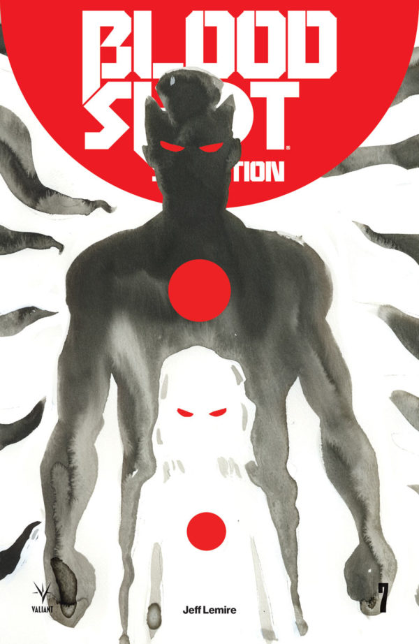 Bloodshot Salvation #7 cover by Jeff Lemire