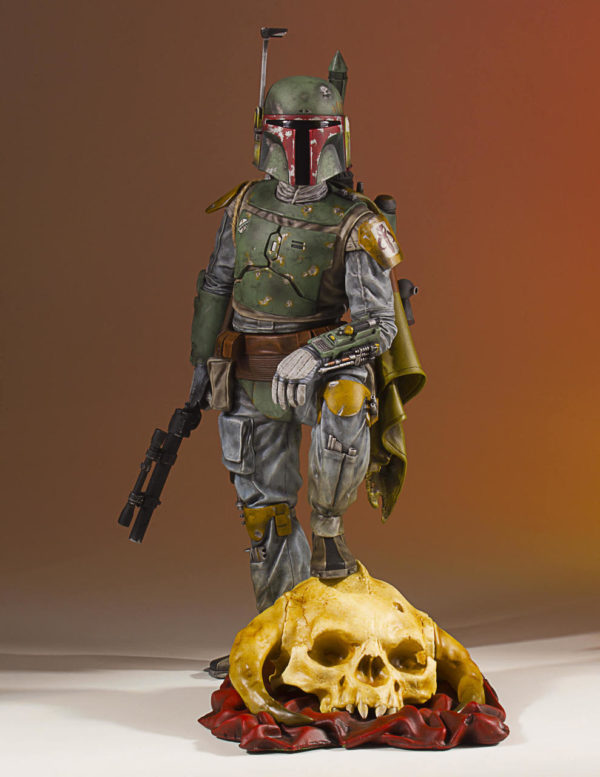 Картинки по запросу Star Wars Statues - 1/8 Scale Boba Fett Collector's Gallery