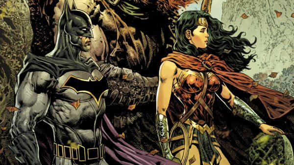 The Brave and the Bold: Batman and Wonder Woman #1 cover by Liam Sharpe and Romulo Fajardo Jr.